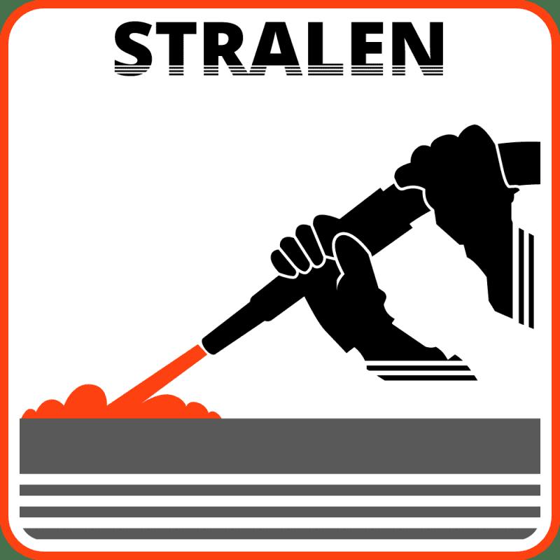 Icoon stralen grijs | Gloeitechniek Brabant
